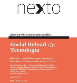 Social Reload: tecnologia e sociale