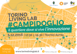 TLL #Campidoglio. The district where the innovation lives