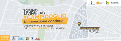TORINO LIVING LAB #CAMPIDOGLIO. L'innovazione continua!
