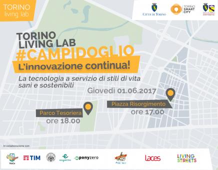 Torino Living Lab Bike Tour – Giovedì 1 giugno – ore 17.00