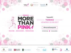 Il premio More than Pink fa tappa a Torino