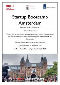 Startup Bootcamp Amsterdam