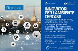 Innovatori per l'ambiente cercasi – Climathon Torino