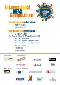"""Concorso internazionale di idee: """"I giovani per un territorio smart aperto all'Europa"""""""