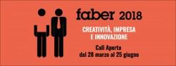 Concorso FABER 2018: creatività, impresa e innovazione