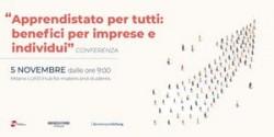 """Conferenza """"Apprendistato per tutti: benefici per imprese e individui"""""""