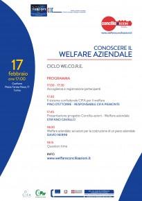 Evento sul tema del Welfare