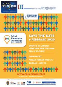 Evento di lancio del progetto PINS WECARE